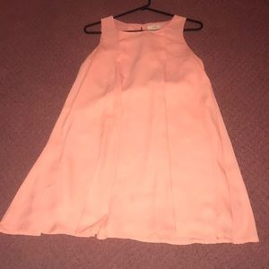 flowy salmon/orange Kori dress